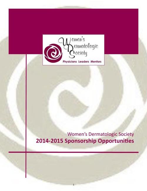 Fundraising Sponsorship Brochure 10.27