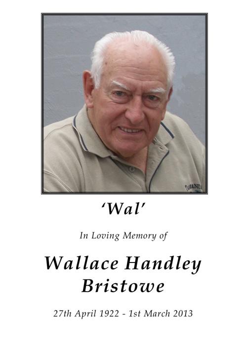 Wallace Bristowe