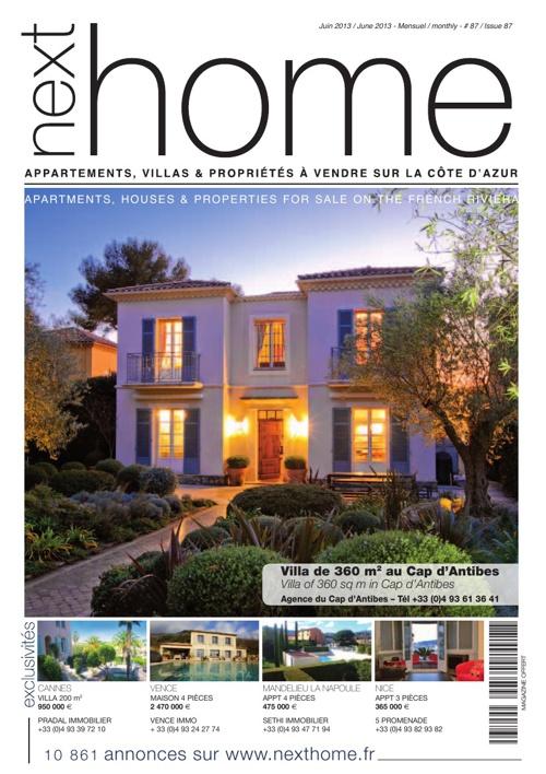 Magazine Nexthome Juin 2013