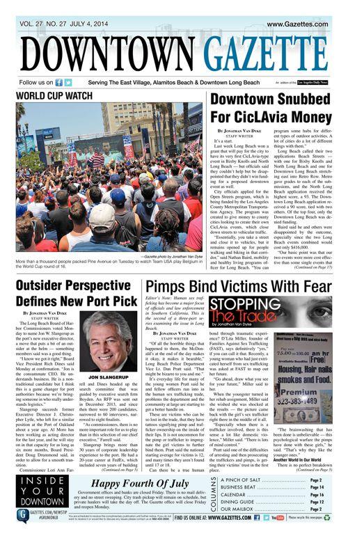 Downtown Gazette  |  July 4, 2014