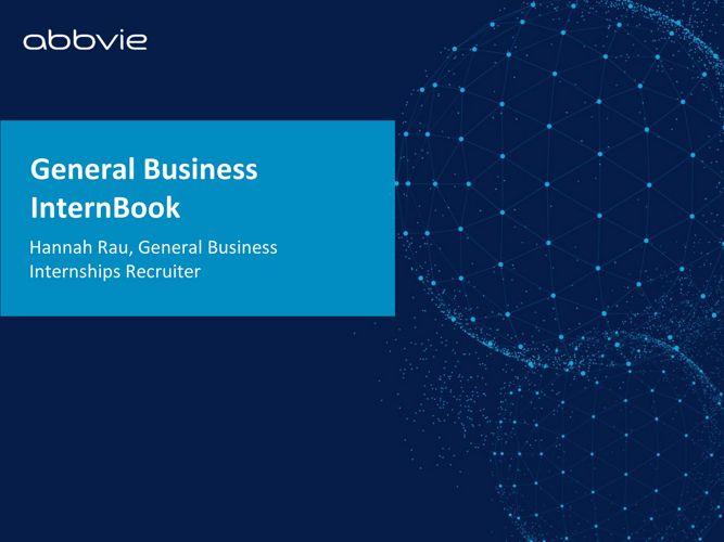 General Business InternBook