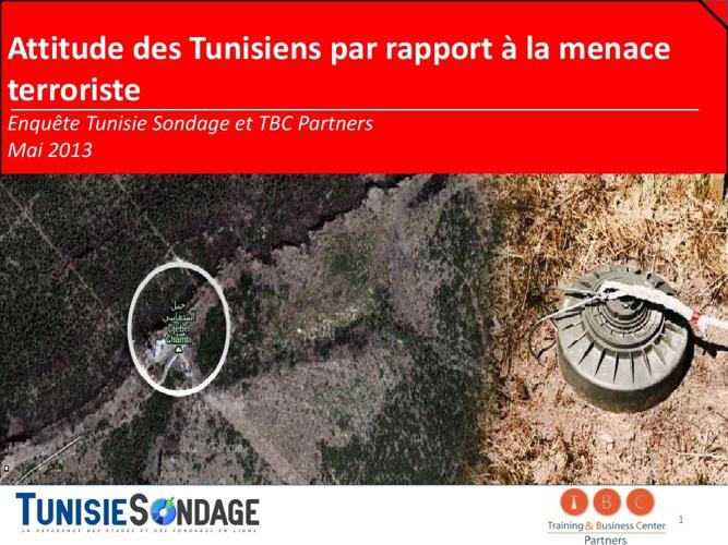 Rapport du sondage : Le terrorisme en Tunisie