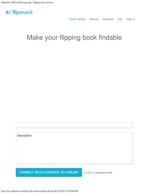 FlipSnack _ PDF to Flash page flip - flipping book software