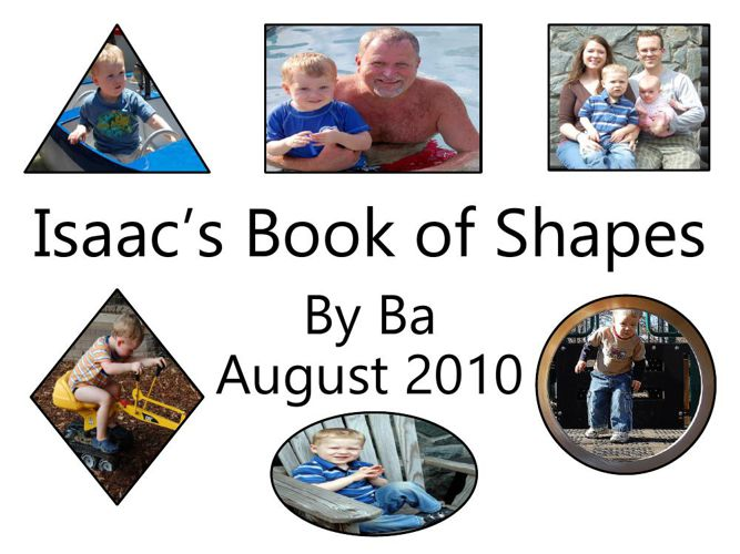 Isaac's Book of Shapes