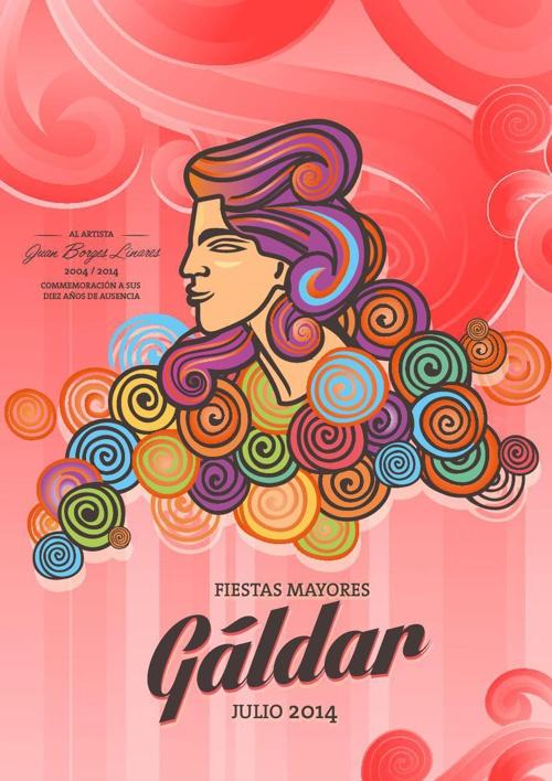 Programa de Las Fiestas Grandes de Gáldar 2014