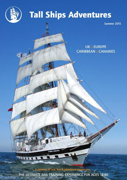 Tall Ships summer brochure 2015