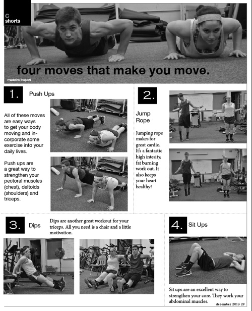 Four moves that will make you move