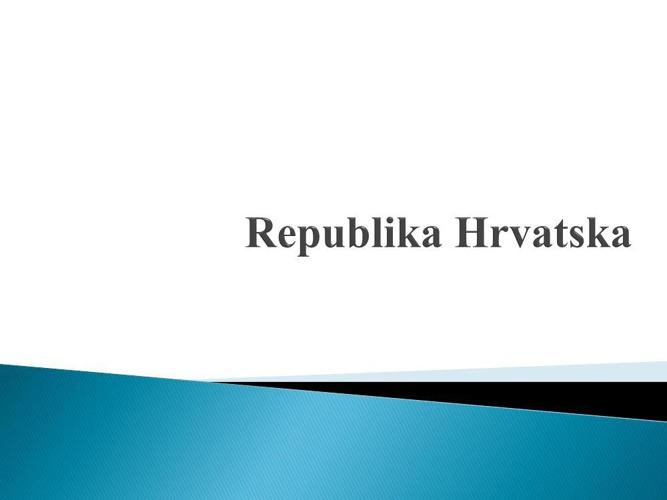 Republika Hrvatska