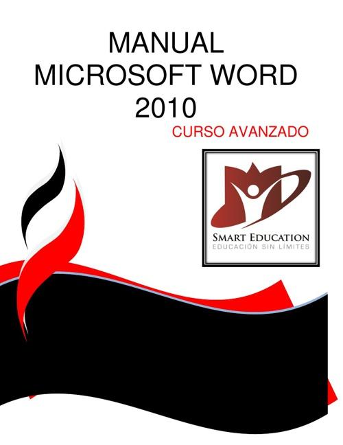 CURSO DE MICROSOFT WORD 2010 AVANZADO CON PORTADA