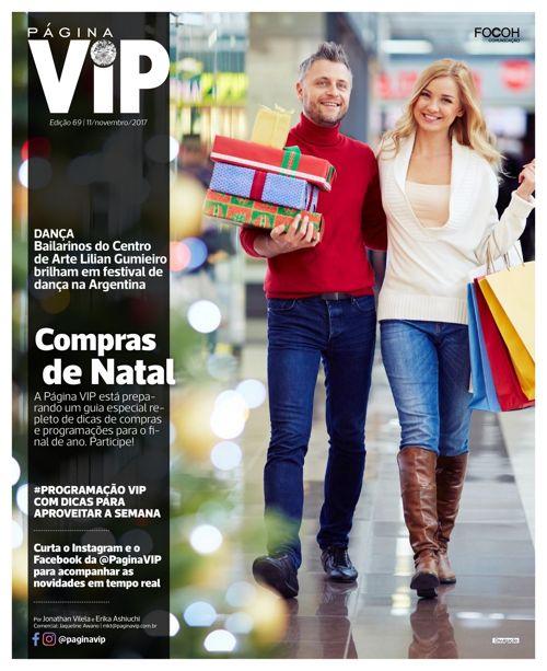 Leia ONLINE o caderno Página VIP de 11/11/2017