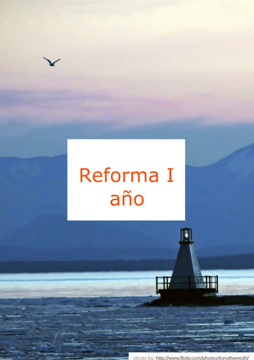 (DOC I. REFORMA DE I AÑO. ORIENTACIONES PARA LA PUESTA EN PRÁCTI