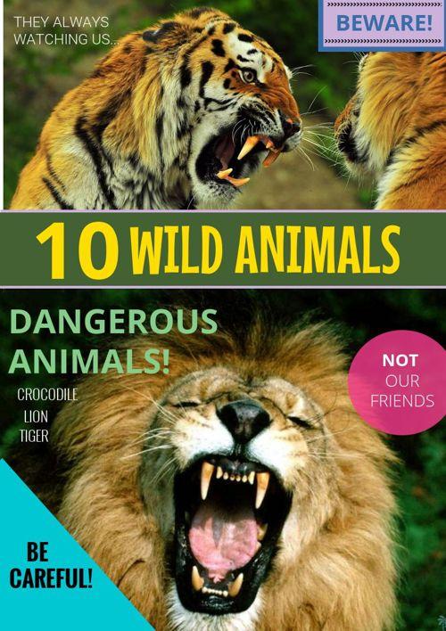 10 wild animals