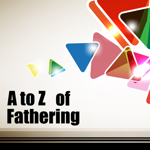 A to Z of Fathering - Triangles