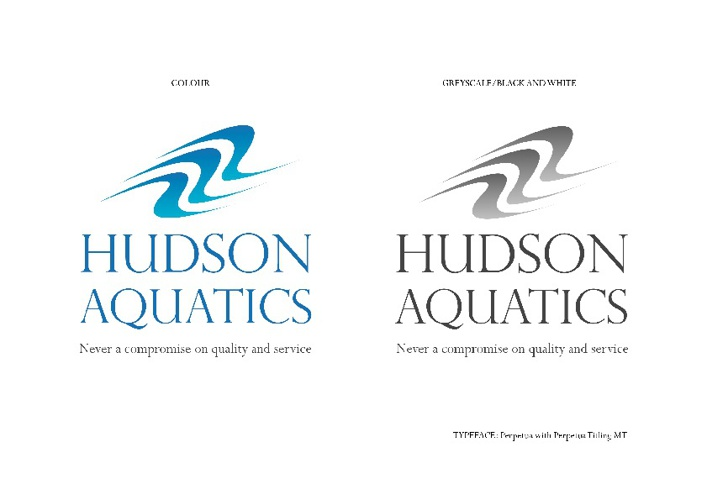 Logos - Hudson Aquatics, Tahoma Ridge Steakhouse and Schwent