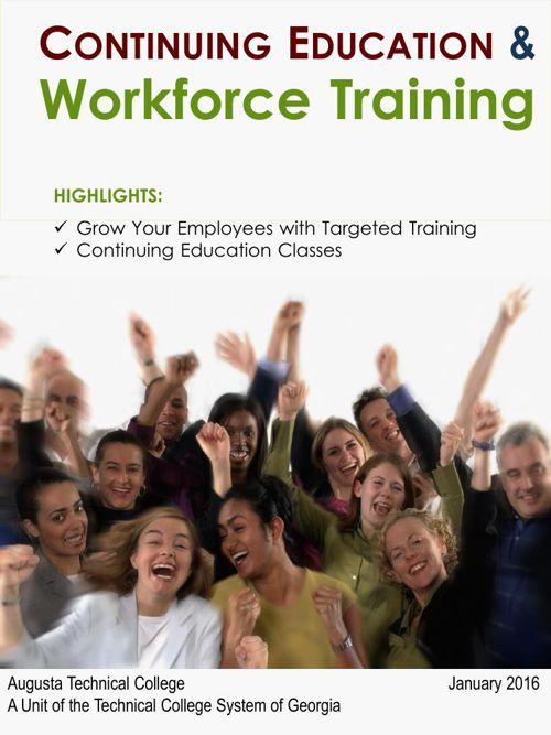 Continuing Education and Workforce Training Jan 2016