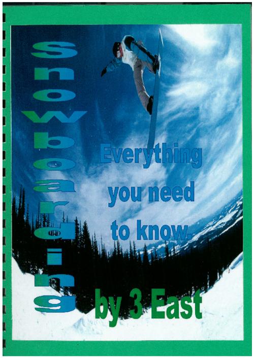 3 East - Snowboarding