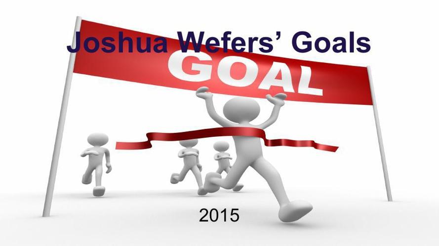 Goal Setting 2015 Joshua Wefers