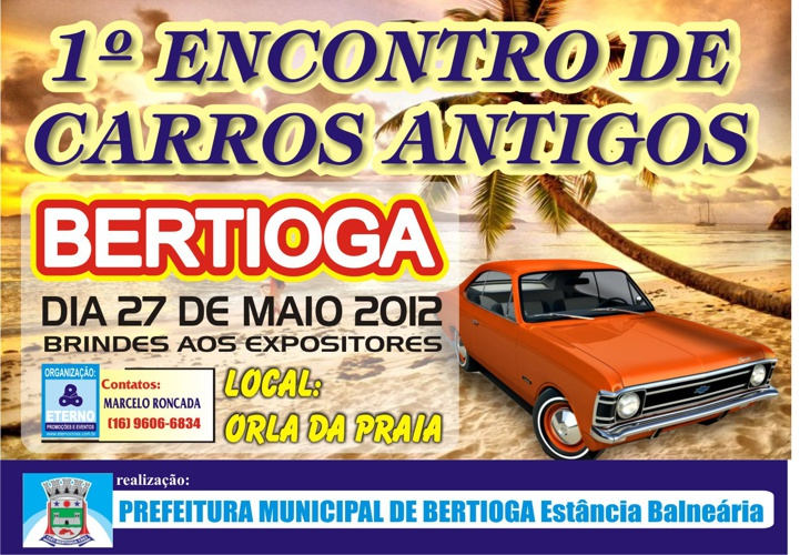 ETERNO ENCONTRO DE CARROS ANTIGOS