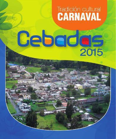 PROGRAMA DE FIESTAS DE CARNAVAL CEBADAS