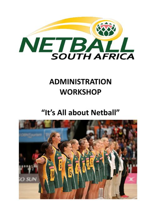 Netball South Africa Doc Complete