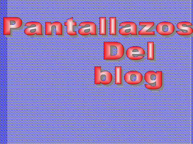 actividades del blogg