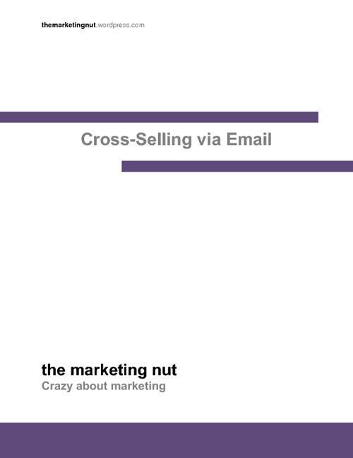Cross-Selling via Email Guide