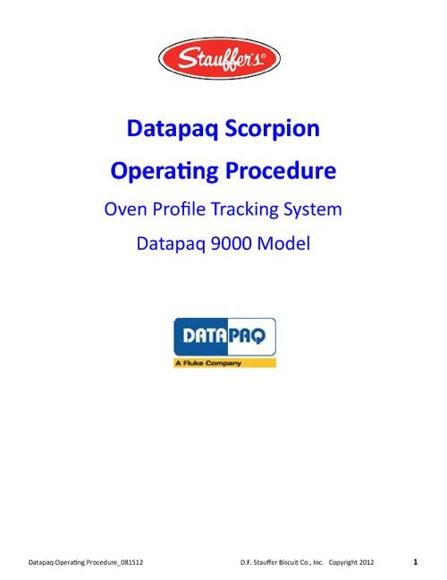 Scorpion Datapaq