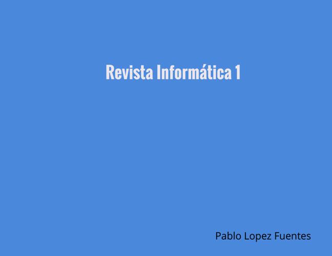 Revista Informática 1