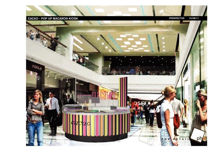 Macaron Kiosk Concept 2