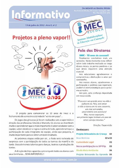Informativo IMEC