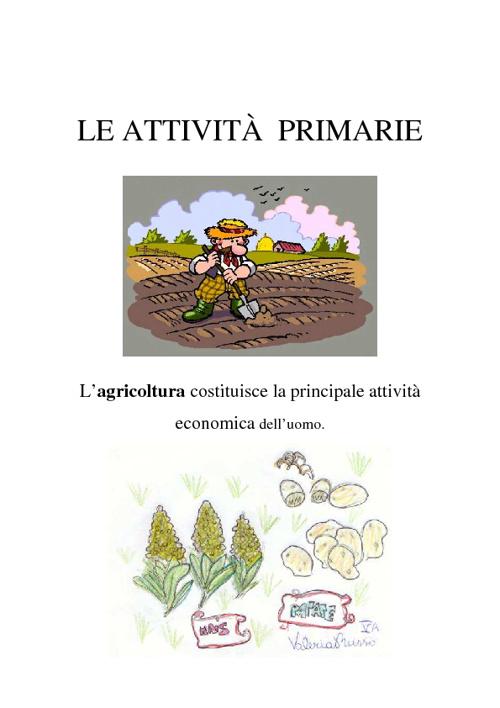 Le attività primarie