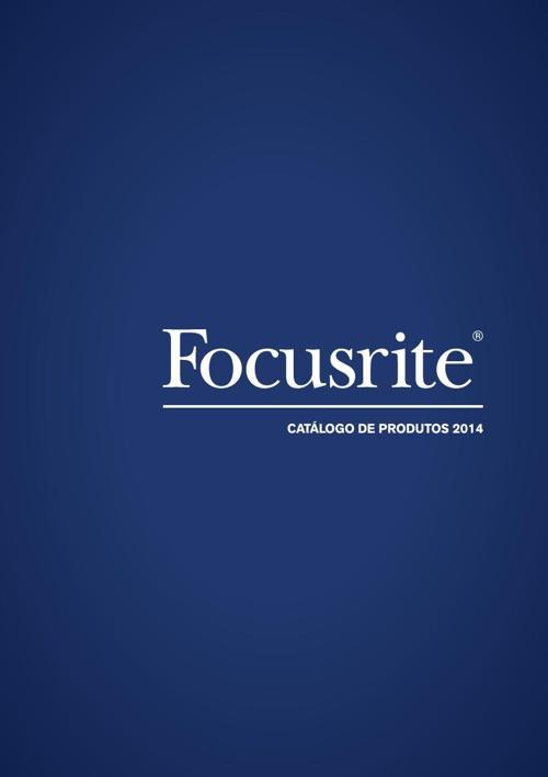 Catálogo Focusrite