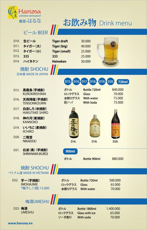 Haruna Drink