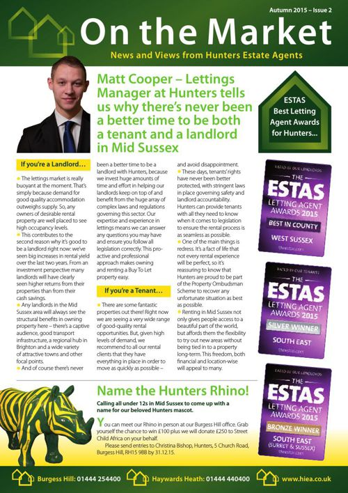 Hunters Newsletter 002 Autumn 1015