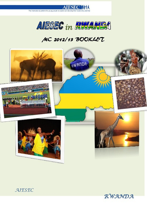 AIESEC Rwanda MC Application Booklet