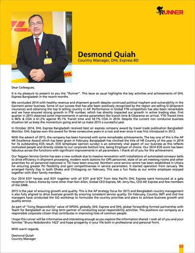 DHL Runner Magazine
