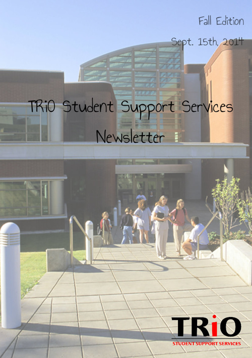 TRIO SSS Newsletter Fall 2014