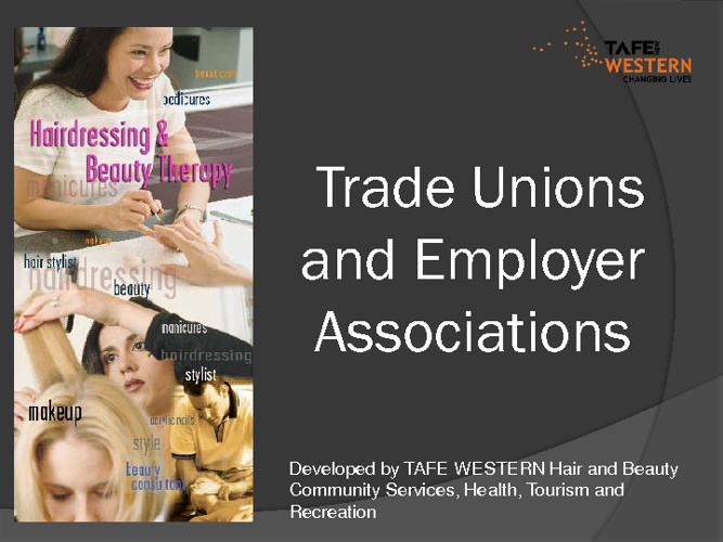 Trade unions and employer associations