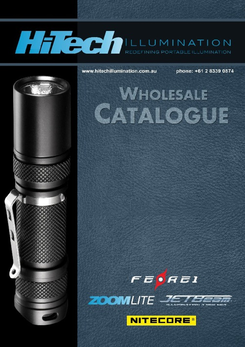 Hitech Illumination 2012 Wholesale Catalogue