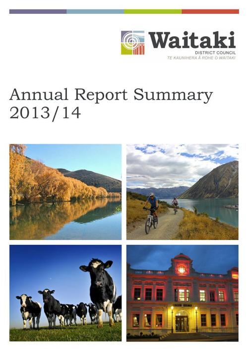Annual Report Summary 2014