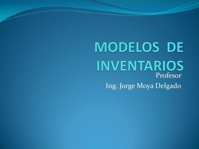 Libro de Modelos y Simulación