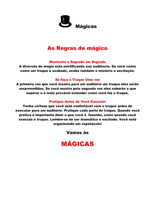 magicas reveladas