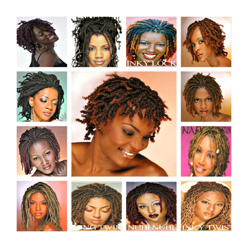 Afro Twist Hair Styles