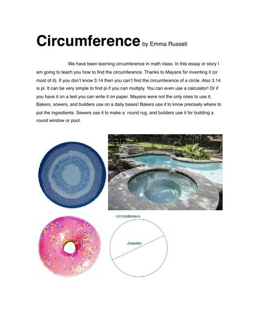 Emma Russell Circumfrence