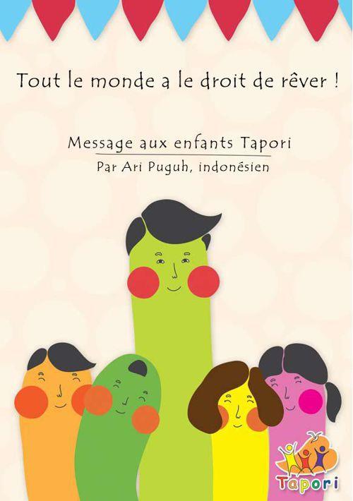 Tapori Mini Book: Ari's Story in French