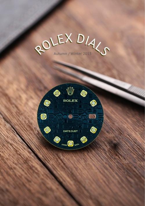 Rolex Dials A/W 13