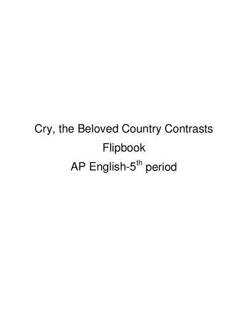 Contrasts Flipbook