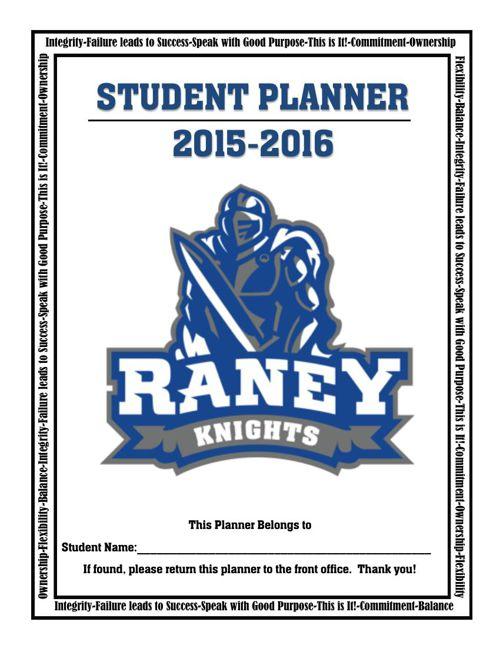 2015 2016 Raney Planner