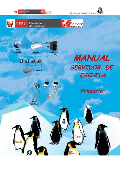 Manual del Servidor de Escuela XO