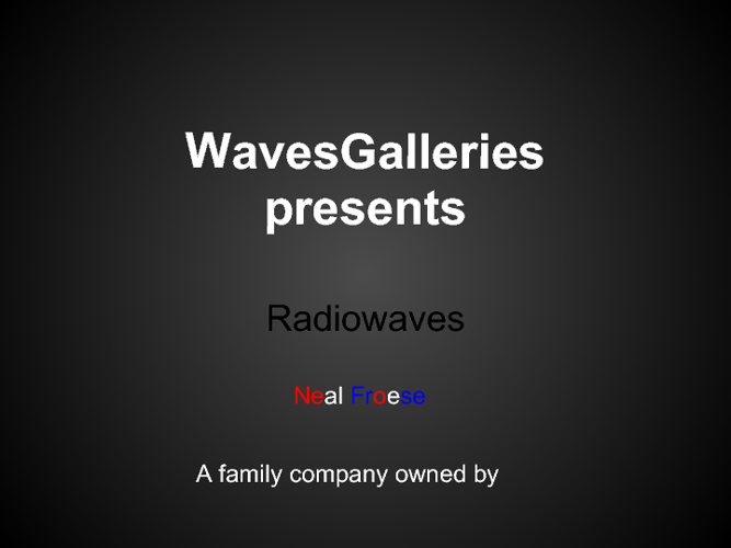 WavesGalleries by Neal Froese